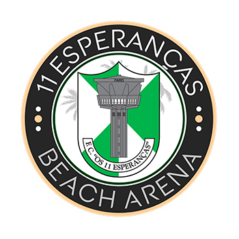 Beach Arena FC Os 11 Esperanças. Official opening 31 May