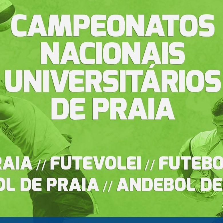 Campeonatos Nacionais Universitários de Praia 2019