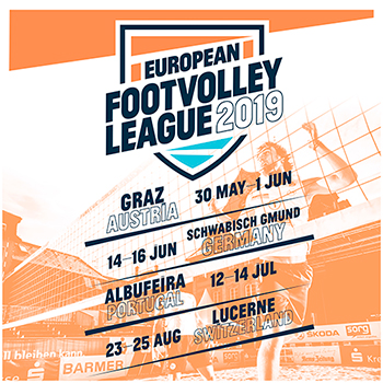 European Footvolley League Tour 2019 - Let the show begin