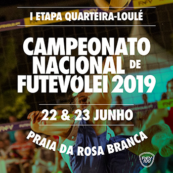 LiveStreaming - I Etapa do Campeonato Nacional de Futevólei 2019