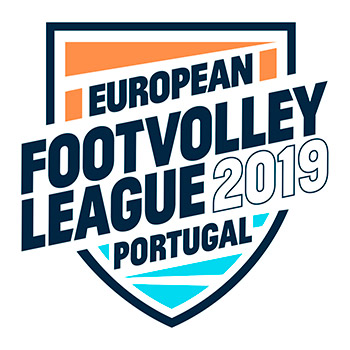 European Footvolley League 2019 - Albufeira, Portugal - Portugal 1 represented by Filipe Santos and Miguel Pinheiro win 3rd European stage