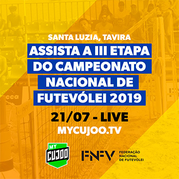 3rd stage - National Footvolley Championship 2019 - Livestreaming!