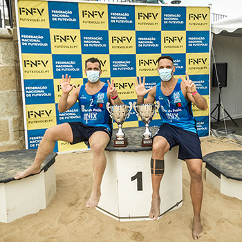 Miguel Pinheiro and Nelson Pereira, national champions 2020